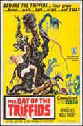 "Movie Posters:Science Fiction, The Day of the Triffids (Allied Artists, 1962). One Sheet (27"" X 41""). Science Fiction.. ..."