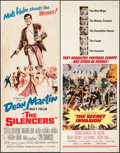 "Movie Posters:Action, The Silencers & Others Lot (Columbia, 1966). Inserts (12) (14""X 36""). Action.. ... (Total: 12 Items)"