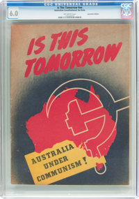 Is This Tomorrow #nn Australian Edition (Australian Constitutional League, circa 1952) CGC FN 6.0 Off-white pages