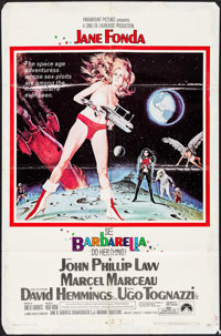 "Barbarella (Paramount, 1968). One Sheet (27"" X 41"") Style A & Pressbook (14 Pages, 12.25"" X 15&qu..."