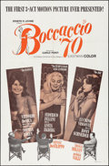 """Movie Posters:Foreign, Boccaccio '70 & Others Lot (Embassy, 1962). One Sheets (4) (27"""" X 41""""), Lobby Cards (4) (11"""" X 14""""), & Photos (3) (8"""" X 10"""")... (Total: 11 Items)"""