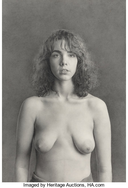 Kent Bellows (American, 1949-2005)Margaret, 1987Pencil on paper22 x 15 inches (55.9 x 38.1 cm)...
