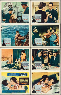 "The Key & Other Lot (Columbia, 1958). Lobby Card Sets of 8 (2 Sets) (11"" X 14""). Romance. ... (Total: 16 I..."