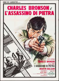 "The Stone Killer (Cineriz, 1973). Italian 2 - Fogli (39.25"" X 55""). Crime"