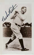 Baseball Collectibles:Photos, 1940's Babe Ruth Signed Photograph from The Beatrice WadeCollection, PSA/DNA Mint 9. ...