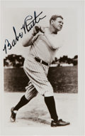 Baseball Collectibles:Photos, 1940's Babe Ruth Signed Photograph from The Beatrice Wade Collection, PSA/DNA Mint 9. ...
