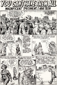Robert Crumb Hup #4 Complete 4-Page Story Original Art (Last Gasp, 1992)