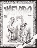 Original Comic Art:Covers, Robert Crumb Weirdo #22 Cover Original Art (Last Gasp,1988)....