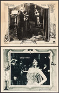 """Movie Posters:Romance, Singed Wings & Other Lot (Paramount, 1922). Lobby Cards (2) (11"""" X 14""""). Romance.. ... (Total: 2 Items)"""
