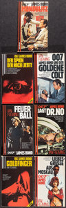 "Movie Posters:James Bond, James Bond Novels by Ian Fleming (Scherz Verlag, 1970s-1990s).German paperback Books (14) (Approx. 4.5"" X 7"", 8.25"" X 5.5"")...(Total: 14 Item)"