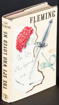 """The Spy Who Loved Me by Ian Fleming (Jonathan Cape, 1962). 1st Edition British Hardcover Book (221 Pages, 5.25"""" X 7..."""