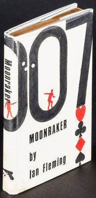 """Moonraker by Ian Fleming & Other Lot (Pan Books, 1963). British Hardcover Book (192 Pages, 4.75"""" X 7.25&quo..."""