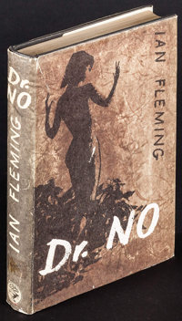 """Dr. No by Ian Fleming (Jonathan Cape, 1958). British Hardcover Book (256 Pages, 5.25"""" X 7.25"""" X 1"""") 2nd I..."""