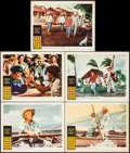 "Movie Posters:Adventure, The Old Man and the Sea & Others Lot (Warner Brothers, 1958).Lobby Cards (12) (11"" X 14""). Adventure.. ... (Total: 12 Items)"