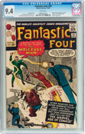 Silver Age (1956-1969):Superhero, Fantastic Four #20 (Marvel, 1963) CGC NM 9.4 White pages....