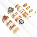 Estate Jewelry:Rings, Victorian Multi-Stone, Half-Pearl, Seed Pearl, Gold, Gold-FilledRings. ... (Total: 20 Items)