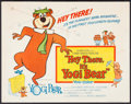 "Movie Posters:Animation, Hey There, It's Yogi Bear (Columbia, 1964). Half Sheet (22"" X 28""). Animation.. ..."