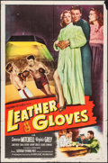 "Movie Posters:Sports, Leather Gloves (Columbia, 1948). One Sheet (27"" X 41""). Sports.. ..."