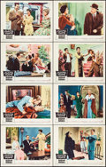 """Movie Posters:Comedy, Auntie Mame (Warner Brothers, 1958). Lobby Card Set of 8 (11"""" X14""""). Comedy.. ... (Total: 8 Items)"""