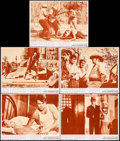 "Movie Posters:Crime, Bonnie and Clyde (Warner Brothers-Seven Arts, 1967). Lobby Cards(5) (11"" X 14""). Crime.. ... (Total: 5 Items)"