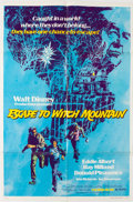 Memorabilia:Movie-Related, Escape to Witch Mountain One Sheet Movie Poster and LobbyCards Group of 9 (Walt Disney, 1975).... (Total: 9 Items)