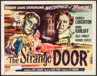 "The Strange Door (Universal International, 1951). Half Sheet (22"" X 28"") Style B. Horror"