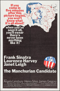 """The Manchurian Candidate (United Artists, 1962). One Sheet (27"""" X 41"""") & Pressbook (12 Pages, 13"""" X 1..."""