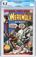 Bronze Age (1970-1979):Horror, Werewolf by Night #32 (Marvel, 1975) CGC NM- 9.2 Cream to off-whitepages....