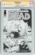 Modern Age (1980-Present):Horror, The Walking Dead #1 Wizard World Nashville Sketch Edition -Signature Series (Image, 2015) CGC NM/MT 9.8 White pages....