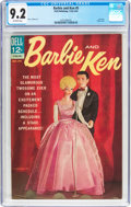 Silver Age (1956-1969):Miscellaneous, Barbie and Ken #5 (Dell, 1964) CGC NM- 9.2 Off-white pages....