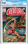 Bronze Age (1970-1979):Horror, Creatures on the Loose #10 (Marvel, 1971) CGC VF/NM 9.0 Off-whitepages....