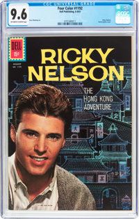 Four Color #1192 Ricky Nelson (Dell, 1961) CGC NM+ 9.6 Off-white to white pages