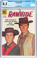 Silver Age (1956-1969):Western, Four Color #1028 Rawhide (Dell, 1959) CGC VF+ 8.5 White pages....