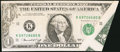 Error Notes:Foldovers, Fr. 1908-K $1 1974 Federal Reserve Note. Extremely Fine-AboutUncirculated.. ...