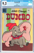 Golden Age (1938-1955):Funny Animal, Four Color #668 Dumbo - File Copy (Dell, 1955) CGC NM- 9.2Off-white pages....
