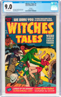 Golden Age (1938-1955):Horror, Witches Tales #7 File Copy (Harvey, 1952) CGC VF/NM 9.0 Off-whitepages....