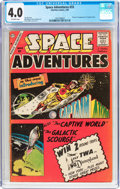 Silver Age (1956-1969):Science Fiction, Space Adventures #33 (Charlton, 1960) CGC VG 4.0 Off-whitepages....