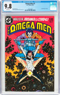 Modern Age (1980-Present):Superhero, The Omega Men #3 (DC, 1983) CGC NM/MT 9.8 White pages....