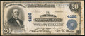 National Bank Notes:Maine, Portland, ME - $20 1902 Plain Back Fr. 652 The Portland NB Ch. #4128. ...
