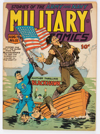 Military Comics #11 (Quality, 1942) Condition: VG/FN