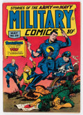 Golden Age (1938-1955):War, Military Comics #29 (Quality, 1944) Condition: FN+....