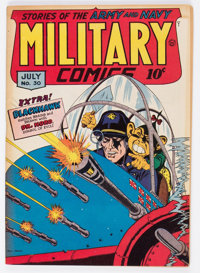 Military Comics #30 (Quality, 1944) Condition: FN+