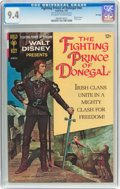 Silver Age (1956-1969):Adventure, Movie Comics: Fighting Prince of Donegal - File Copy (Gold Key, 1967) CGC NM 9.4 Off-white to white pages....