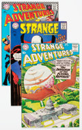 Silver Age (1956-1969):Science Fiction, Strange Adventures Group of 45 (DC, 1956-73) Condition: AverageFN.... (Total: 45 Comic Books)