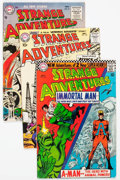 Silver Age (1956-1969):Science Fiction, Strange Adventures Group of 43 (DC, 1956-73) Condition: Average VG.... (Total: 43 Comic Books)