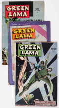 Golden Age (1938-1955):Superhero, Green Lama #5, 7, and 8 Group (Spark Publications, 1945-46) Condition: Average GD/VG.... (Total: 3 Comic Books)