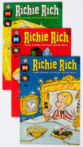 Bronze Age (1970-1979):Humor, Richie Rich File Copy Group of 77 (Harvey, 1968-82) Condition:Average NM-.... (Total: 77 Comic Books)
