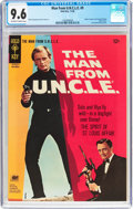 Silver Age (1956-1969):Miscellaneous, Man from U.N.C.L.E. #9 (Gold Key, 1966) CGC NM+ 9.6 Off-white towhite pages....