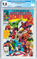 Modern Age (1980-Present):Superhero, Marvel Super Heroes Secret Wars #1 (Marvel, 1984) CGC NM/MT 9.8White pages....