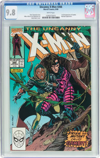 X-Men #266 (Marvel, 1990) CGC NM/MT 9.8 White pages
